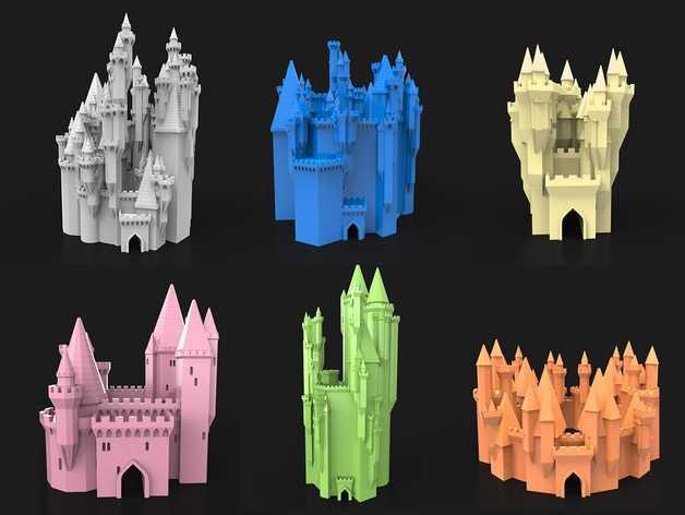 Castelos-impressão-3D