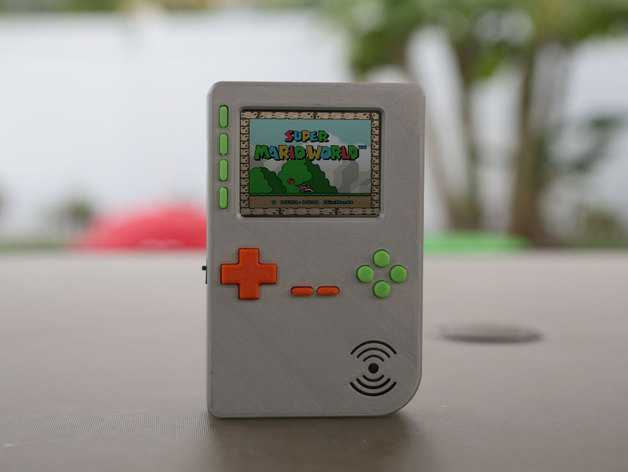 Portable-raspberry-3dprinted-case