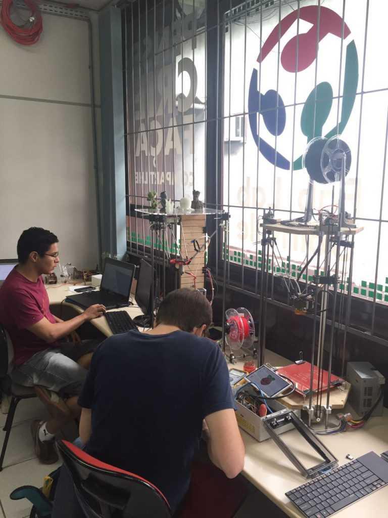 impressão 3d fab lab joinville