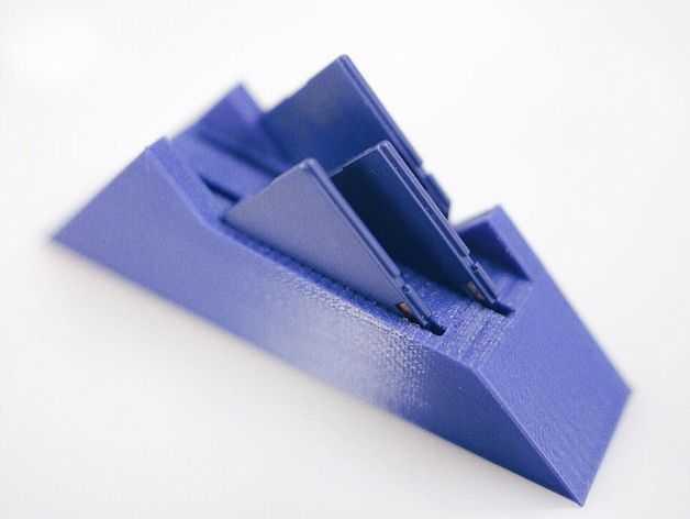 Projetos para impressora 3D - SD Card Mountain