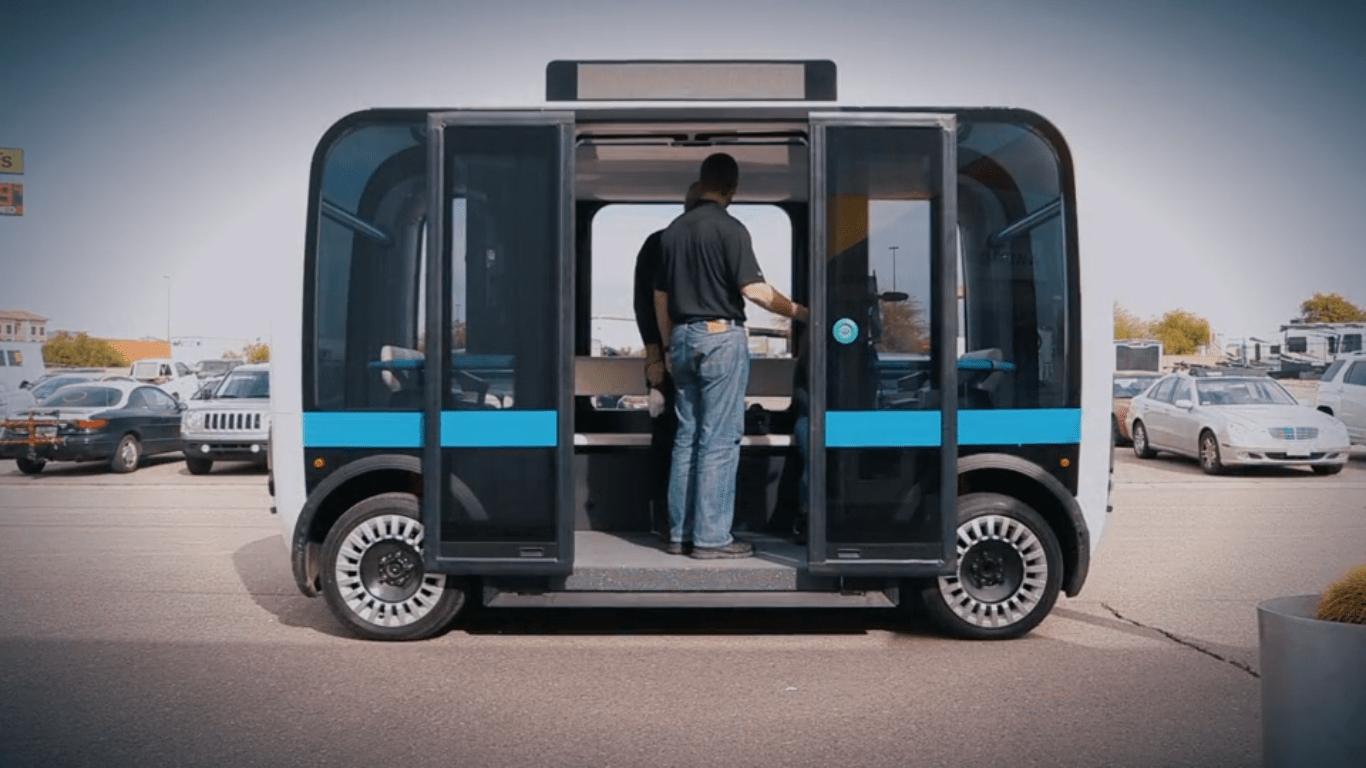 Ônibus autônomo, Olli self-driving