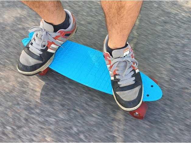 Skate impresso em 3D