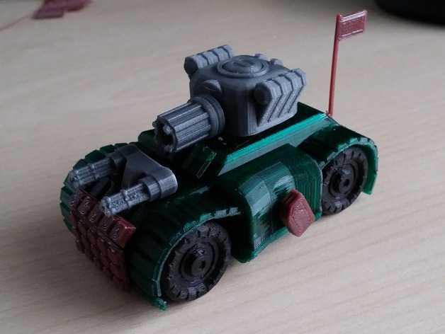 Carrinhos de brinquedo impresso em 3D